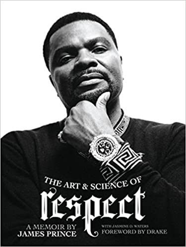 The book cover for J Prince's memoir The Art & Science of Respect. Used under Fair Use.